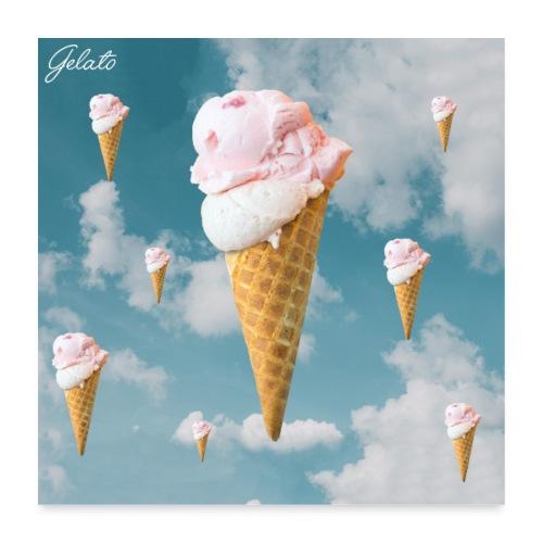 Gelato EP Cover - Poster 60x60 cm