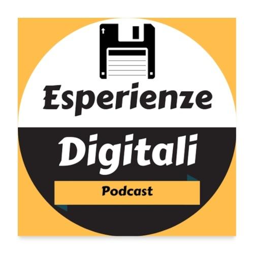 Logo Esperienze Digitali - Poster 60x60 cm