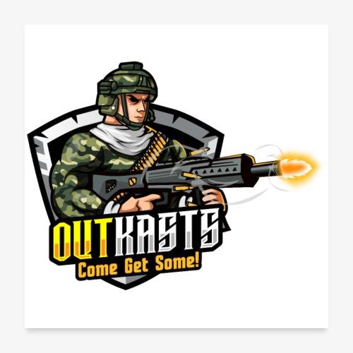 OutKasts [OKT] Logo 2 - Poster 24 x 24 (60x60 cm)