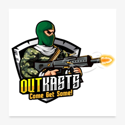 OutKasts [OKT] Logo 1 - Poster 24 x 24 (60x60 cm)