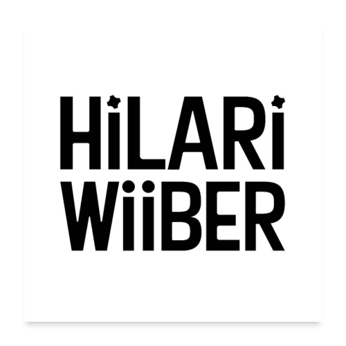 Hilari Wiiber Family - Poster 60x60 cm
