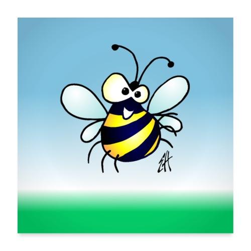 Bee - Poster 24 x 24 (60x60 cm)