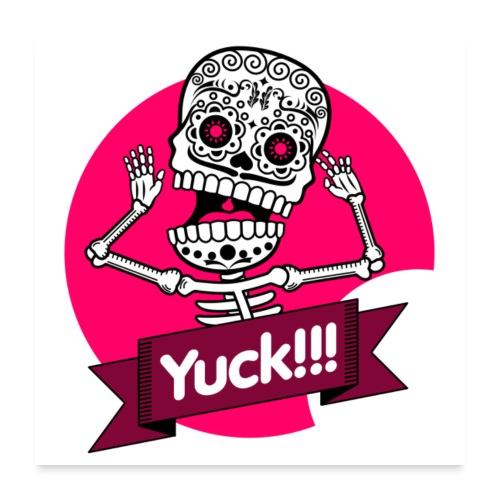 Skalle skull death s head 10 - Poster 60x60 cm