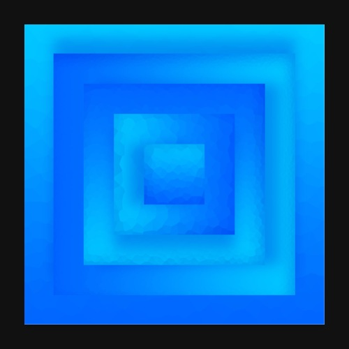 Water Cube - Poster 60x60 cm