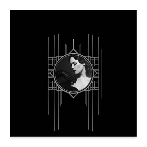 Femme Fatale Xarah Design 3 - Poster 24 x 24 (60x60 cm)