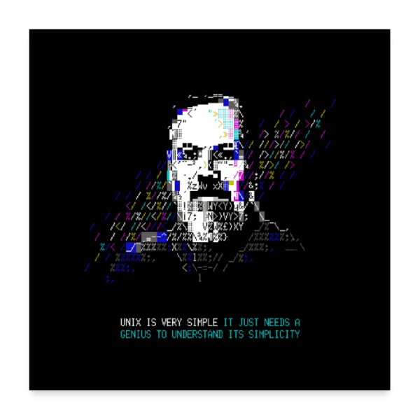 "Tech Heroes - Ritchie - Poster 24"" x 24"" (60x60 cm)"