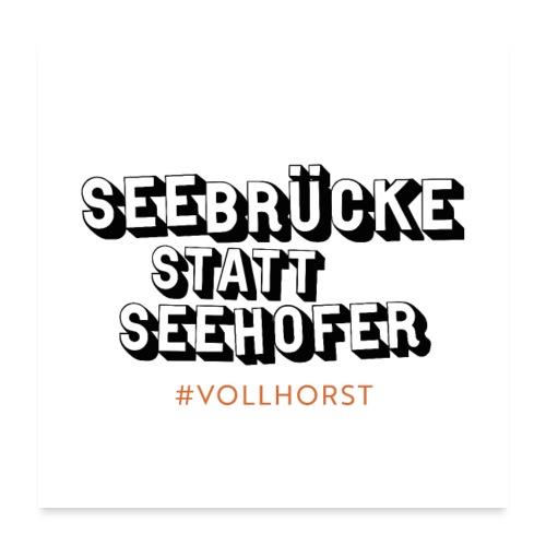 Vollhorst - Poster 60x60 cm