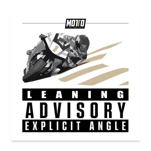Poster Leaning Advisory - Poster 60 x 60 cm