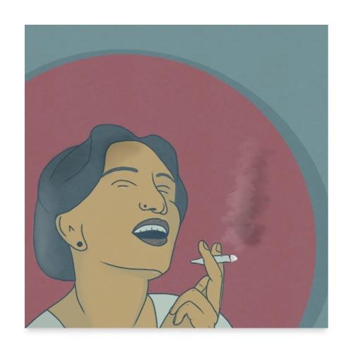 frauzigi - Poster 60x60 cm