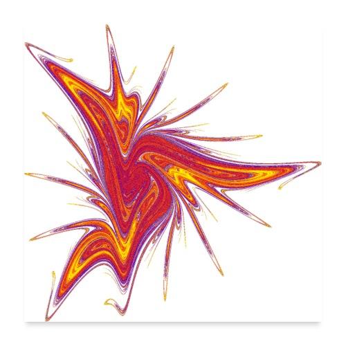 Lausebengel Starfish Sea Urchin Sea Animals 2953bry_P - Poster 24 x 24 (60x60 cm)