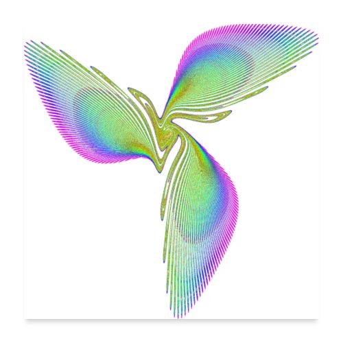 Bird of Paradise Icarus 3318grbw_p - Poster 24 x 24 (60x60 cm)