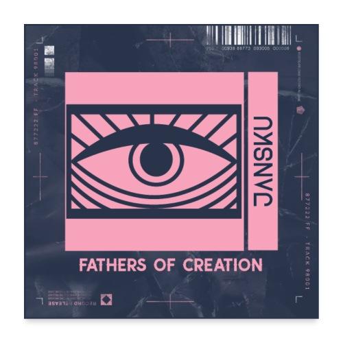 Fathers of Creation - JΛNSKU - Juliste 60x60 cm