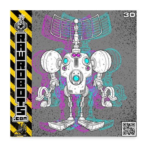 The S.E.E K. Robot! - Poster 60x60 cm