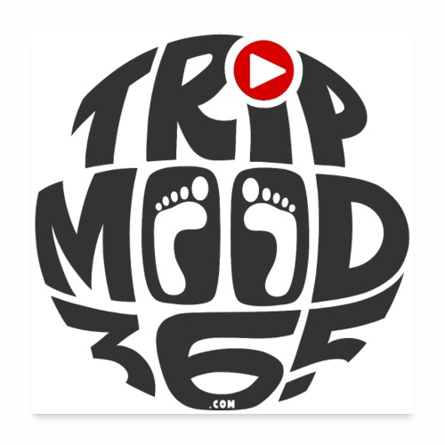 TRIPMOOD365 Traveler Clothes and Products - Juliste 60x60 cm