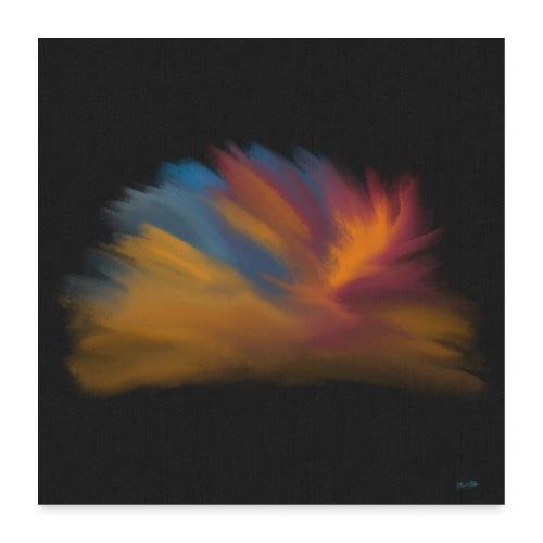 Noisy Plume - Poster 60x60 cm