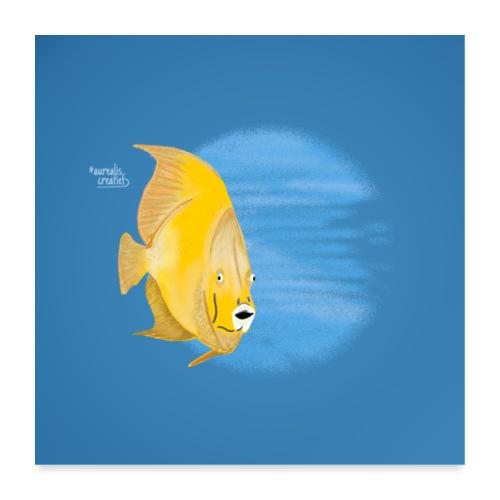 scuba Diving Goudvis - Poster 60 x 60 cm
