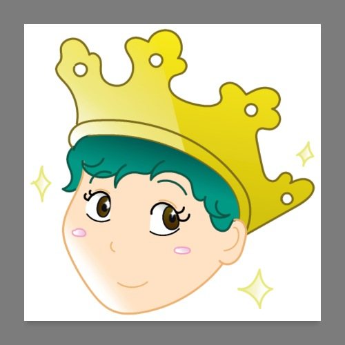 Wear a Crown - Poster 24 x 24 (60x60 cm)
