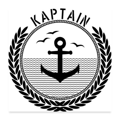 Kaptain - Anchor - Poster 60x60 cm