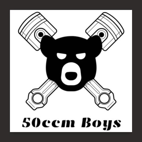 Poster 50ccm Boys Logo mit Schrift - Poster 60x60 cm