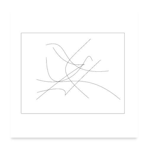 Modern Art - Poster 60x60 cm