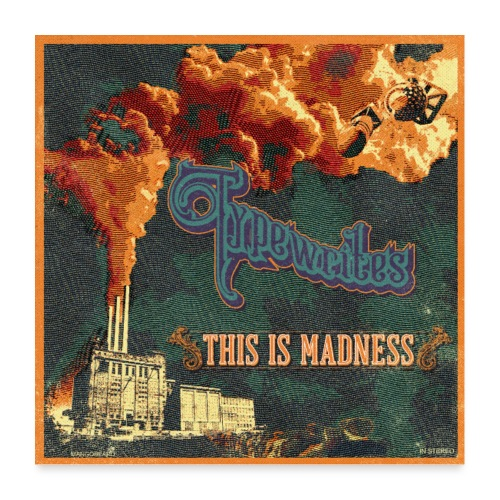 This Is Madness Album Cover - Poster 60x60 cm