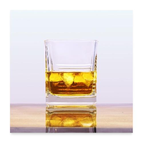 Whisky - Plakat o wymiarach 60 x 60 cm