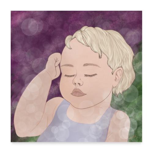 Dream Babygirl - Poster 60x60 cm