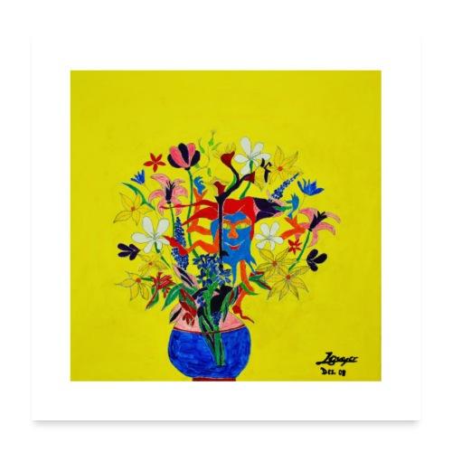 Der Frühling kommt | 2008 - Poster 60x60 cm
