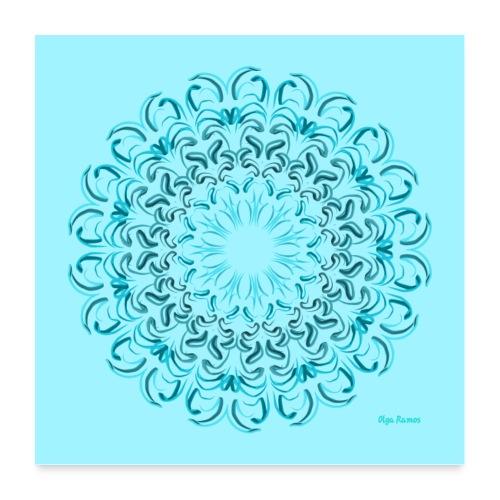 Flor de Agua (Póster de Amanecida) - Póster 60x60 cm