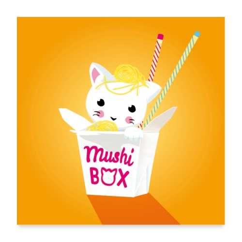 Mushi Box - Poster 60x60 cm