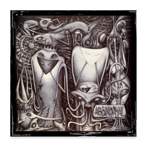 Abbinormal.....GrindCore Metal Band - Poster 60x60 cm
