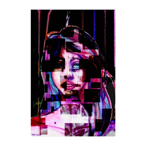 Diversity Pixel - Poster 20x30 cm