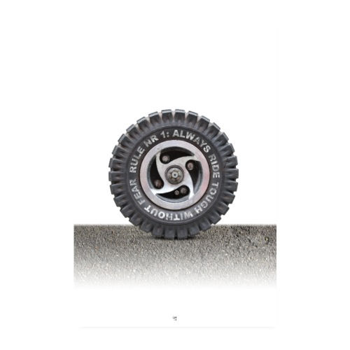 toughwheel - Poster 20x30 cm