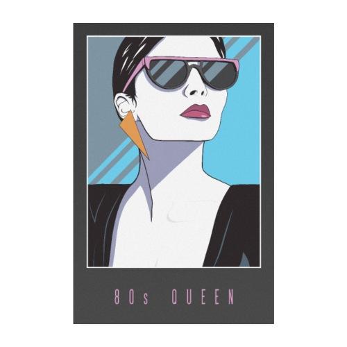 80s QUEEN - Poster 20x30 cm