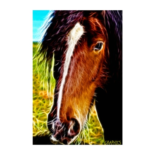 Horse love - Poster 8 x 12