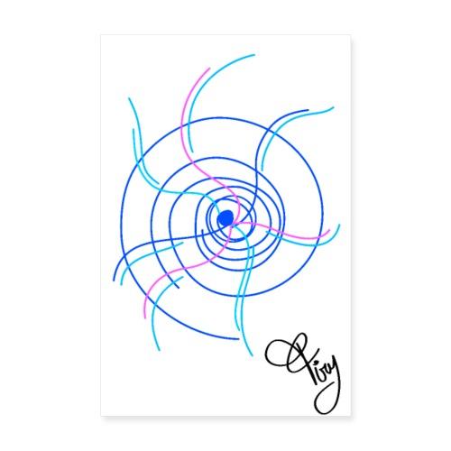 quardo verticale ipnotico - Poster 8 x 12