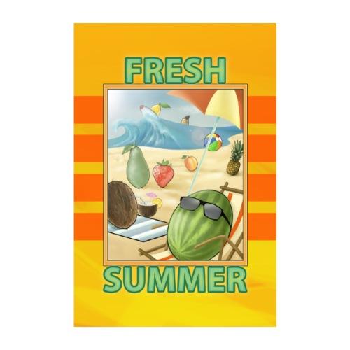 Fresh Fruit Summer - Poster 20x30 cm