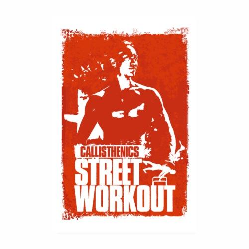 Callisthenics - Street Workout - Poster 20 x 30 cm