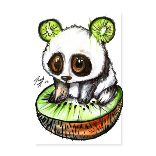 Kiwibabypanda by David Pucher - Poster 20x30 cm