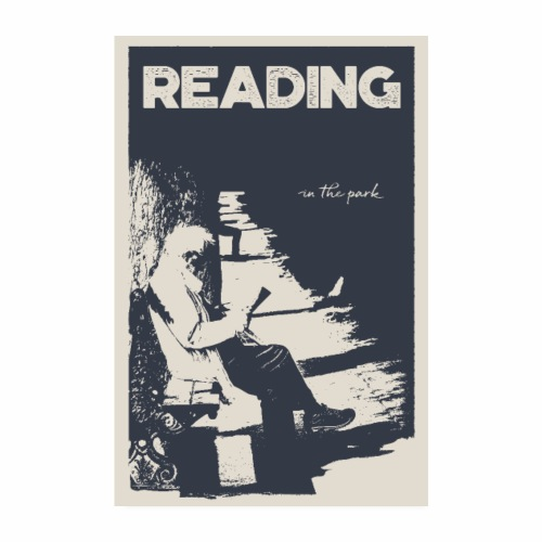 Reading in the Park - Poster - Poster 20 x 30 cm