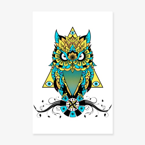 The Owl - Poster 8 x 12