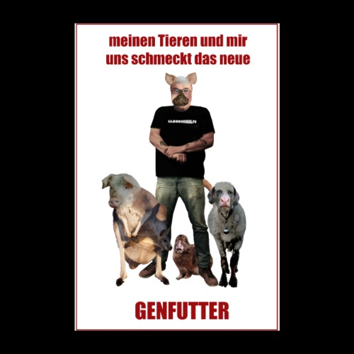 genfutter - Poster 20x30 cm