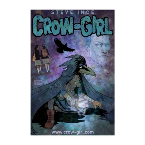 Crow-Girl Poster 1 - Poster 8 x 12 (20x30 cm)
