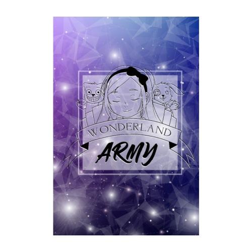 Wonderland-Army - Poster 20x30 cm