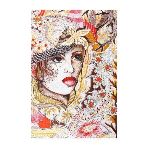 Tant Brun Poster - Poster 20x30 cm