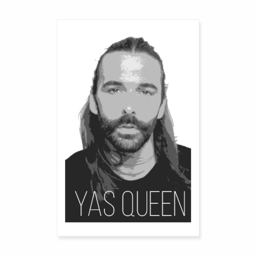 Jonathan Van Nes YAS QUEEN - Poster 8 x 12