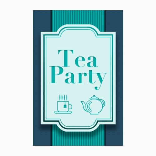 Tea Party - Poster 8 x 12 (20x30 cm)