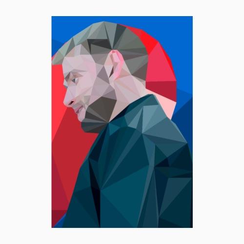 Wolfgang Half Heart - Poster 8 x 12 (20x30 cm)