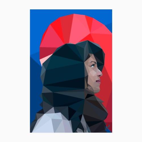 Kalahalfheart - Poster 8 x 12 (20x30 cm)