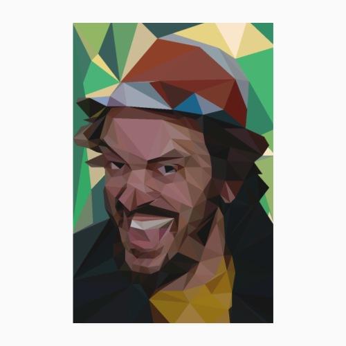 FunnyFaceBug - Poster 8 x 12 (20x30 cm)